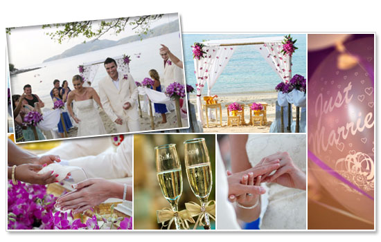Specializing in small wedding parties Burasari 39s dedicated team is on hand